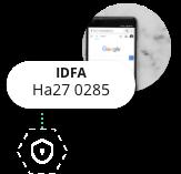 Identificador IDFA Anónimo
